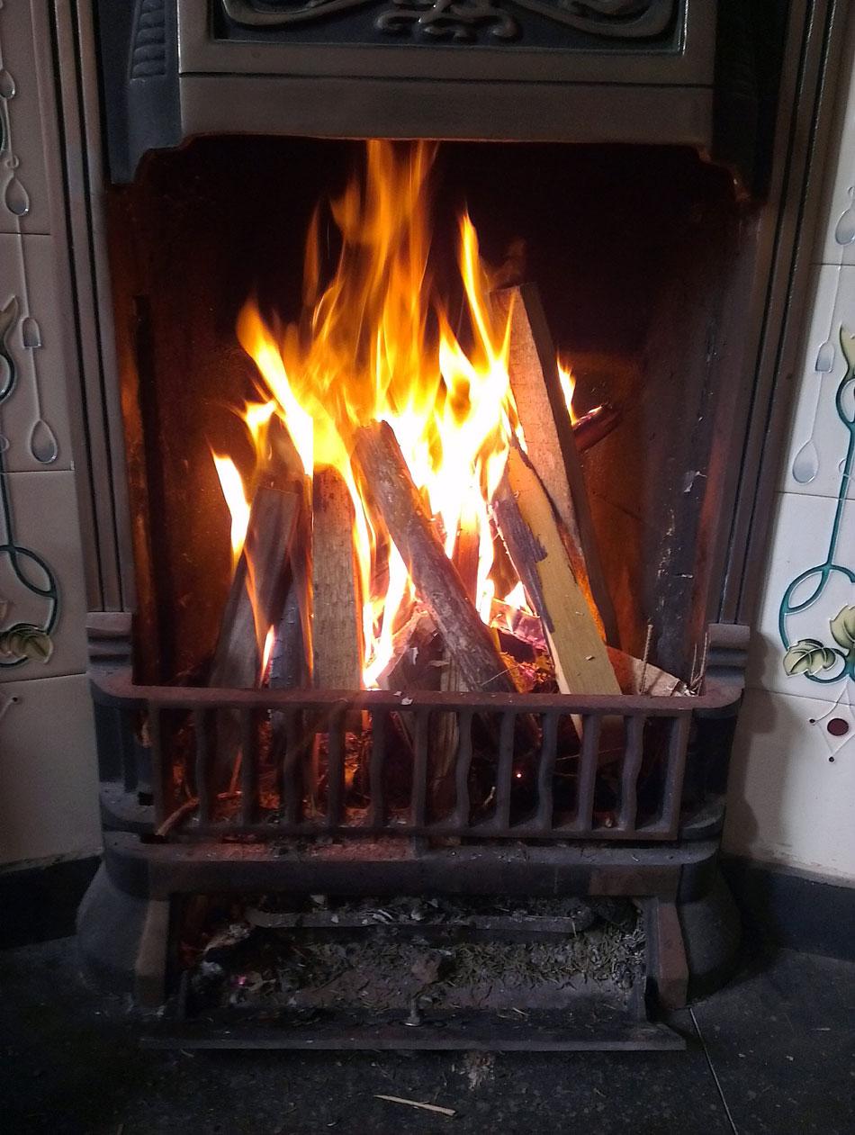fire-taking